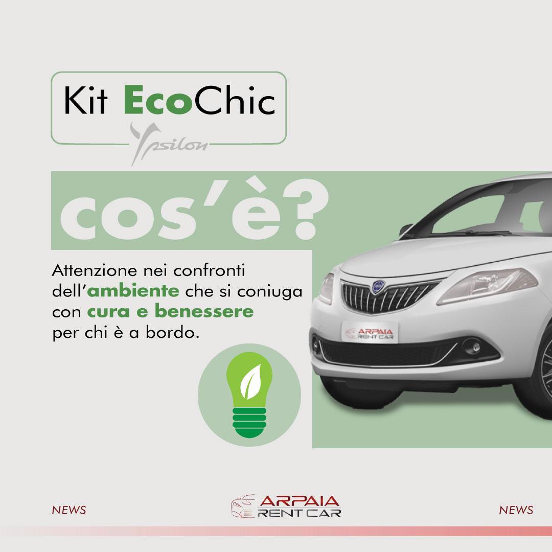 Il Kit EcoChic per il benessere a bordo.